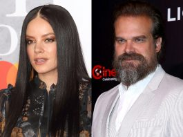 Lily Allen and David Harbour confirm their romance with passionate kiss. (Photo: WENN)