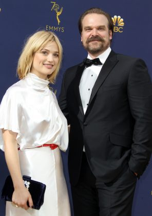 David Harbour was most recently linked to actress Alison Sudol. (Photo: WENN)
