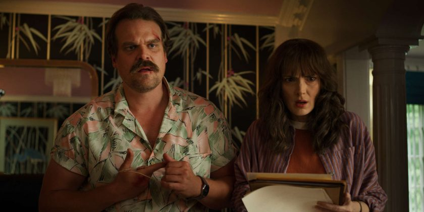 Jim Hopper is madly in love with Winona Ryder's character, Joyce Byers. (Photo: WENN)