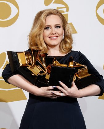 So far in her career, all three of Adele's albums have stormed to Number 1 in all official charts. (Photo: WENN)