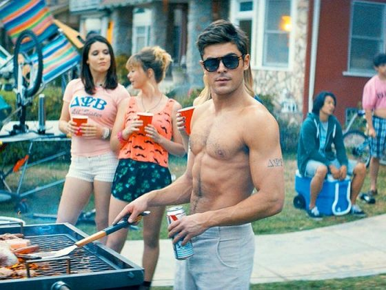 "Efron played Teddy Sanders in ""Neighbors"" and its sequel, a movie about a party-loving college student who starts a fraternity next door to Seth Rogen's character. (Photo: Release)"