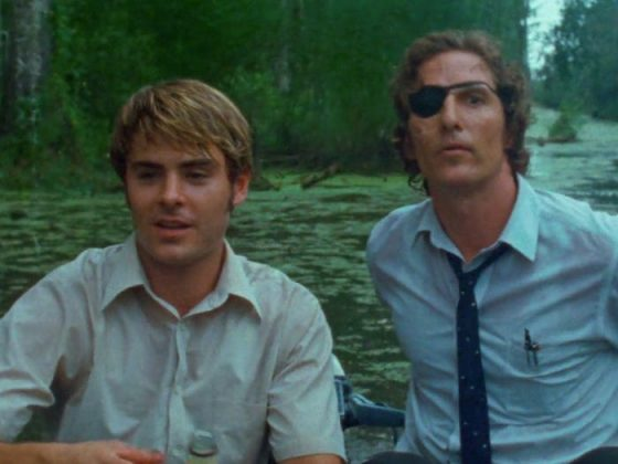"The first time Zac acted alongside Matthew McConaughey was in ""The Paperboy"" where he played Jack Jansen, a supporting role as reporter Ward's younger brother. (Photo: Release)"