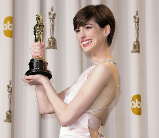 In honor of her 37th birthday, let's take a look at Anne Hathaway's best movies that prove she's much more than the Princess of Genovia. (Photo: WENN)
