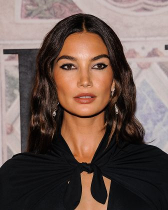 "Former angel Lily Aldridge stood against VS by posting a message to her Instagram that read: ""Trans and [gender nonconforming] people are not a debate."" (Photo: WENN)"