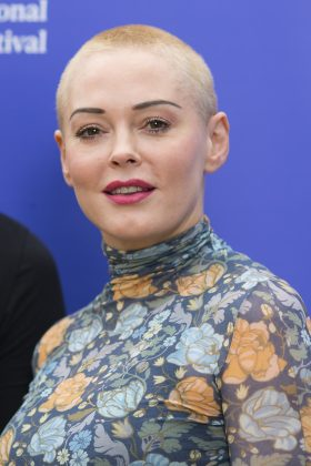 """I don't want green goblins and tight outfits. I want intelligence, daring, work that drives society forward. I want a mirror, not every cliché regurgitated.""—Rose McGowan (Photo: WENN)"