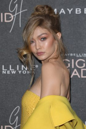 "Gigi Hadid supported the head of her girls squad writing: ""Scott and Scooter, you know what the right thing to do is. Taylor and her fans deserve to celebrate the music!"" (Photo: WENN)"
