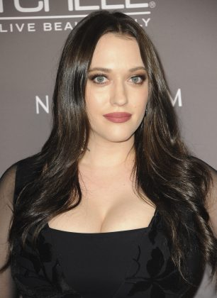 The rapper told Ellen DeGeneres about his feelings for Kat Dennings. He said she was kind enough to go out with him for dinner one time. (Photo: WENN)