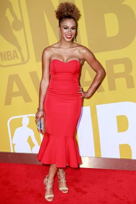 While they never confirmed or denies their status, Drake arrived at the June 2017 NBA Awards alongside Rosalyn Gold-Onwude, a basketball reporter. (Photo: WENN)