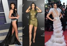 In honor of her 24th birthday, we revisit 10 of the sexiest looks by Kendall Jenner on the red carpet. (Photo: WENN)