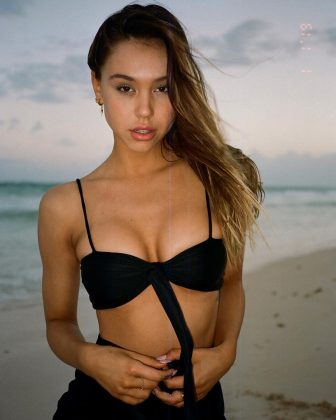 The Swimsuit Issue was far from Alexis' first rodeo. Her career blew up when photos of her posing in a black bikini went viral on Tumblr. (Photo: Instagram)