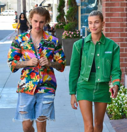 Justin infamously broke up with Selena only to get back with, and eventually marry, Hailey Baldwin. (Photo: WENN)