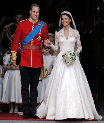A royal wedding! The world was treated to the most decadent wedding of the decade when Prince William and Kate Middleton tied the knot in Westminster Abbey. (Photo: WENN)