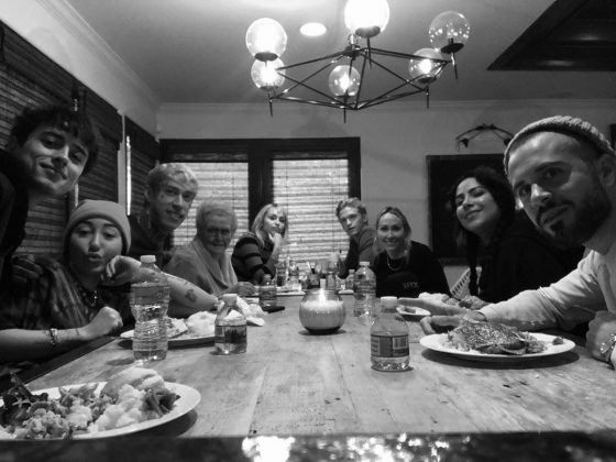 Looks like Cody Simpson got the invite to join the Cyrus family for Thanksgiving. (Photo: Instagram)
