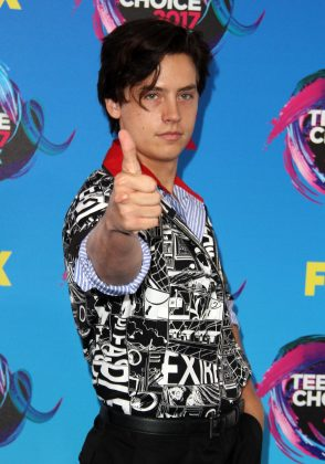 "Cole Sprouse shot down the haters tweeting: ""'It doesn't mean he's out of office yet.' Yeah everyone knows stfu. Take the win, carry the momentum."" (Photo: WENN)"