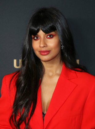 Jameela Jamil joined the impeachment celebrations by sharing hilarious memes about the news making fun of the president. (Photo: WENN)