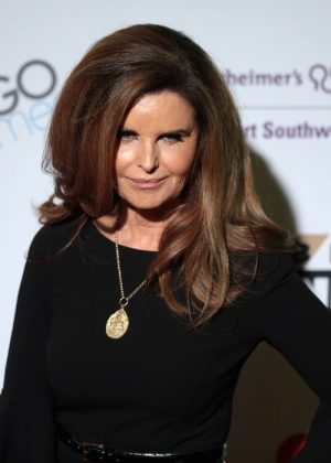 "Maria Shriver marveled at how the president didn't let the process affect his campaing for reelection. ""Not paying attention to what's happening on Capitol Hill."" (Photo: WENN)"