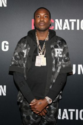 "Meek Mill voiced his confusion over the entire situation. ""Who our next president tho? I never seen one of these jawn happen."" (Photo: WENN)"