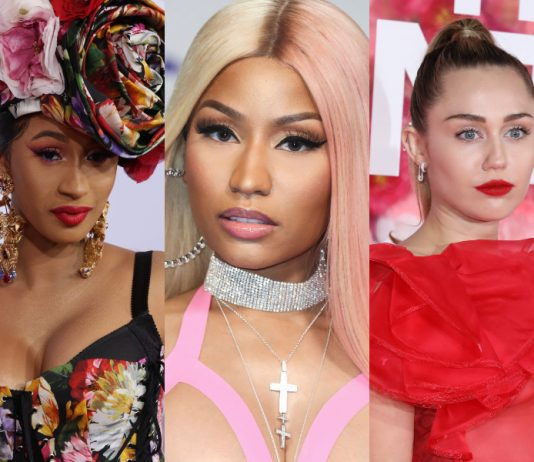 In honor of the Queen's 37th birthday, here are 13 of Nicki Minaj's biggest feuds. It would be nice if she could just get along with everyone, but we're not holding our breath. (Photo: WENN)