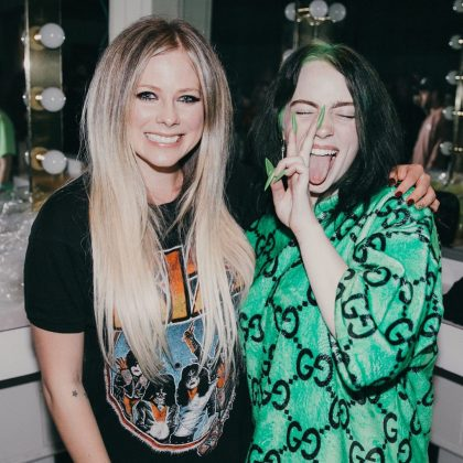 Billie grew up listening to music as diverse as The Beatles, Green Day, Avril Lavigne and Justin Bieber, some of whom she calls her biggest inspirations. (Photo: Instagram)