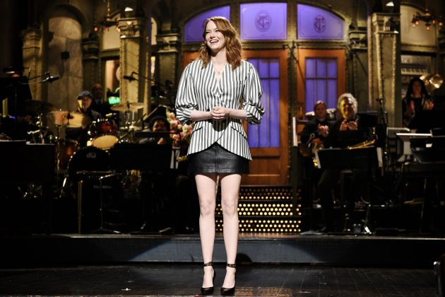 "McCary currently works as a segment director for SNL. IN fact, he met Emma while directing her during the ""Wells for Boys"" skit in 2016. (Photo: Release)"