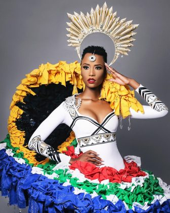 Zozibini Tunzi is the third woman from South Africa to win the title, and the first black woman to earn the title since Leila Lope was crowned Miss Universe in 2011. (Photo: Instagram)