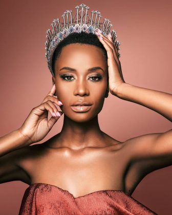 Zozibini competed for Miss South Africa twice. She made it into the top 26 contestants in 2017, but was eliminated. She came back two years later and won! (Photo: Instagram)