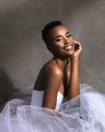 She walked in NYFW 2019. Three months before Miss Universe, she opened the show for Maxhosa, the fashion label from South African designer Laduma Ngxokolo. (Photo: Instagram)