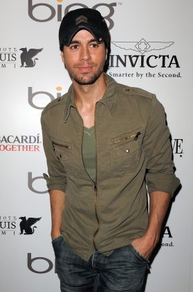 Fans were surprised to learn that Ana Kournikova and Enrique Iglesias welcomed twins in 2017. There was no tone sign on social media that they were expecting. (Photo: WENN)