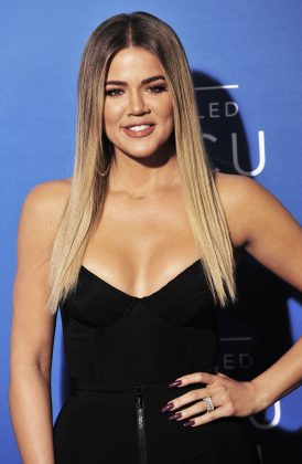 Khloé managed to hid her bump for months before she decided to confirm the news. She was already five months along in her pregnancy with True. (Photo: WENN)
