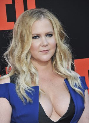 """Chris and I are formally stepping down from our royal duties,"" Amy Schumer wrote over an image of her husband pushing her on the beach. (Photo: WENN)"
