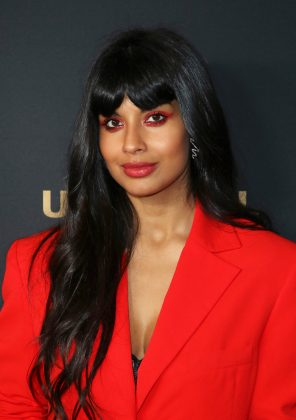 "Jameela Jamil praised the royal couple for their bold decision. ""And that folks, is what power looks like."" (Photo: WENN)"