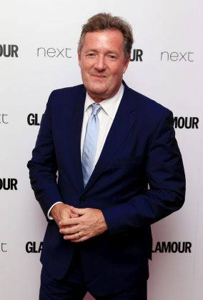 """Piers Morgan seemed very upset with the royal couple, writing: """"No. She's breaking up our royal family after fleecing the public purse."""" (Photo: WENN)"""