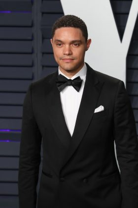 """""""The Daily Show"""" host Trevor Noah managed to make light of the situation by posting a fake ad for the couple to join its staff. (Photo: WENN)"""