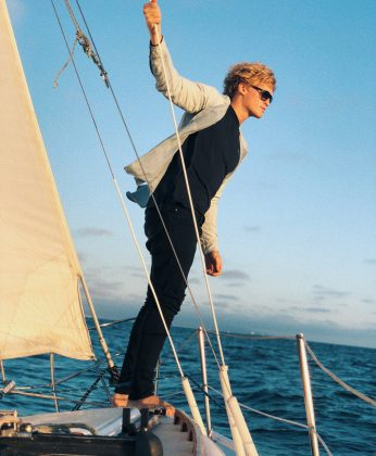 Cody was named the first-ever Ocean Advocate for the United Nations. He helped raise awareness of the crucial role the ocean plays in the health of our planet and people. (Photo: Instagram)