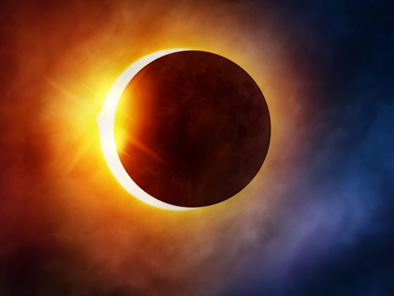 A total solar eclipse that will shade South America in brief darkness. (Photo: Release)