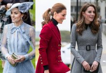 Sorry, Meghan! But Kate Middleton's best looks of 2019 officially make her the best-dressed member of the House of Windsor. (Photo: WENN)