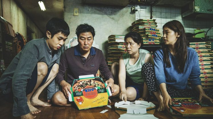 "The ensemble of ""Parasite."" It's wonderful that it became the first South Koren film nominated for Best Picture. But what about the actors who made it possible? (Photo: Release)"