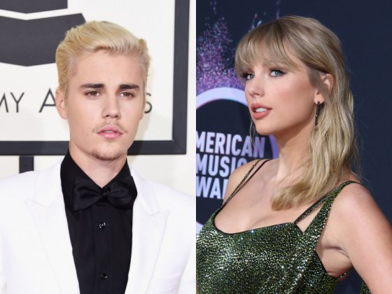 Taylor Swift kicked Justin Bieber out of a gym. (Photo: WENN)
