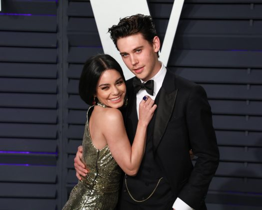 Vanessa and Austin were all smiles at the 2019 Oscars ceremony. (Photo: WENN)