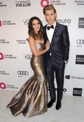 Vaustin brought their A-fashion game at the 2014 Elton John AIDS Foundation Academy Awards viewing party. (Photo: WENN)