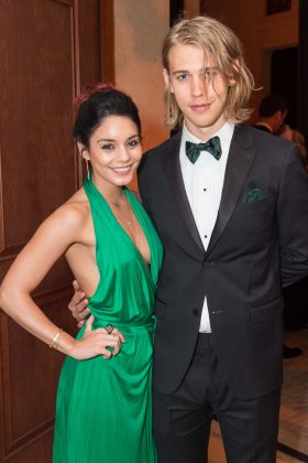 Butler and Hudgens looked stylish at the 10th Anniversary Celebration of the Gourgeous & Green Gala in San Francisco. (Photo: WENN)