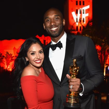 "Kobe Bryant became the first former pro athlete to be nominated an to win an Oscar for Best Animated Short Film his film ""Dear Basketball."" (Photo: Instagram)"