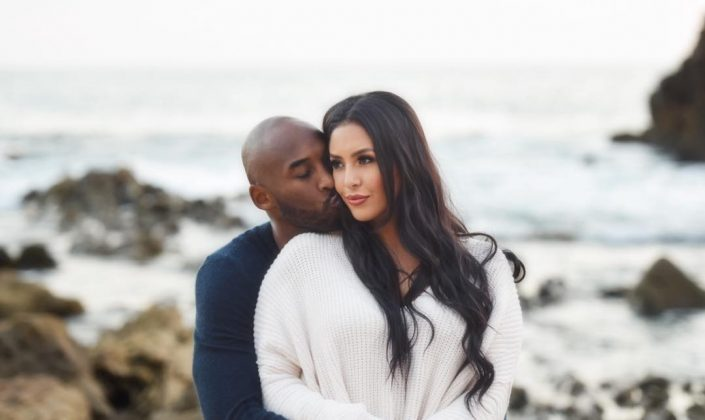 Kobe was Vanessa's high school sweetheart. They met when she was 17 and he was 21. Six months later they got engaged and a finally married two years later. (Photo: Instagram)