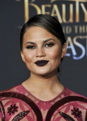 "Despite offering a different point of view an considering to accept his apology, Chrissy Teigen called Logan's videos ""sick and stupid."" (Photo: WENN)"