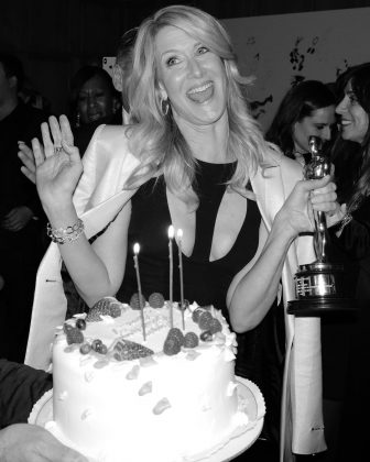 Laura Dern celebrating what surely is the best birthday of her life! (Photo: Instagram)