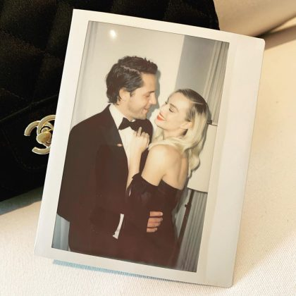 This polaroid is a physical reminder that Margo Robbie is, unfortunately, taken. (Photo: Instagram)