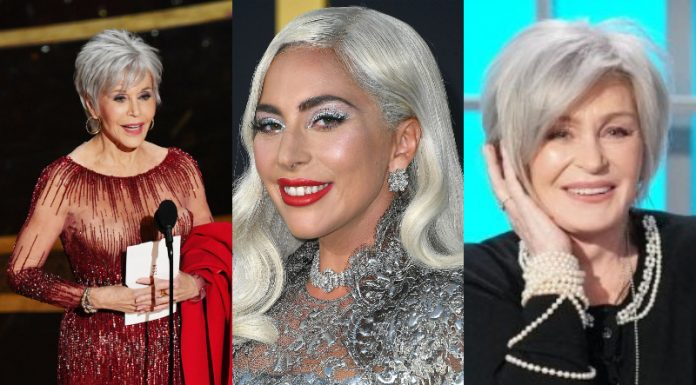 """Whether it is aging with grace or a preferred fashion, these 15 famous women with gray hair own the """"silver fox"""" life better than man do! (Photo: WENN)"""