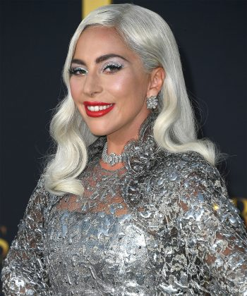Lady Gaga is no stranger to different hair colors and wigs—from blond, to pink, to silver! (Photo: WENN)