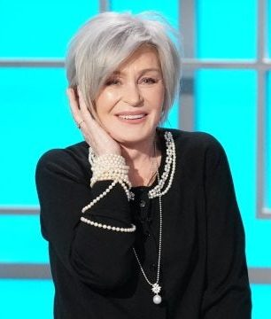After 18 years of coloring her hair on a weekly, Sharon Osbourne has now embraced her natural shade. (Photo: WENN)
