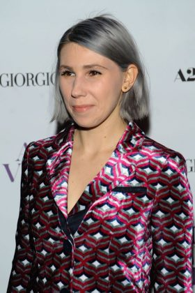 Zosia Mamet went gray—by choice! She made her silver debut in 2104. (Photo: WENN)